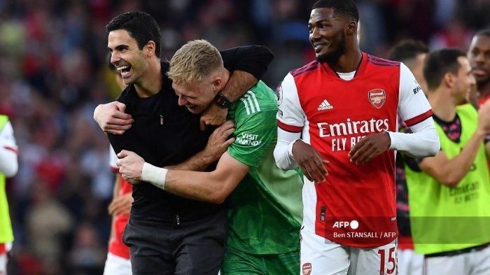 Fakta Laga Arsenal vs Tottenham: Smith-Rowe Spesialis Tiga Angka, Granit Xhaka Jadi Tumbal