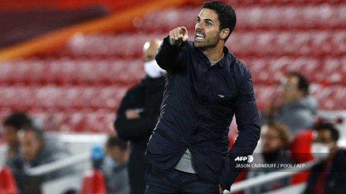 HASIL Liga Inggris - Kena Comeback Liverpool, Pelatih Arsenal Soroti Lini Serang Timnya