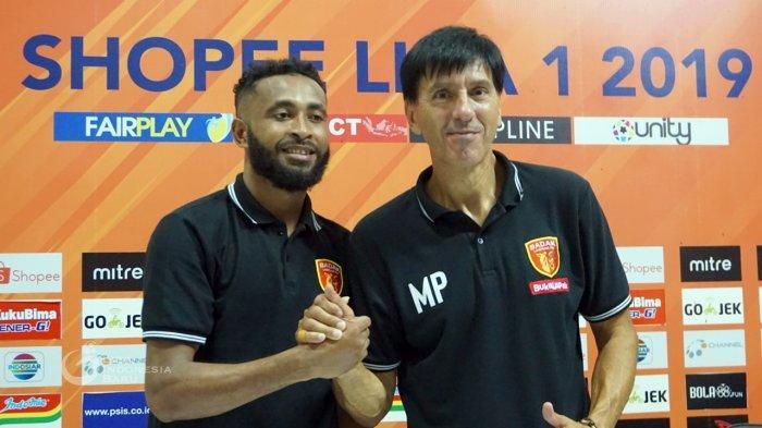 Milan Petrovic, Pelatih Perseru Badak Lampung, jelang laga melawan Semen Padang (Website Liga Indonesia)