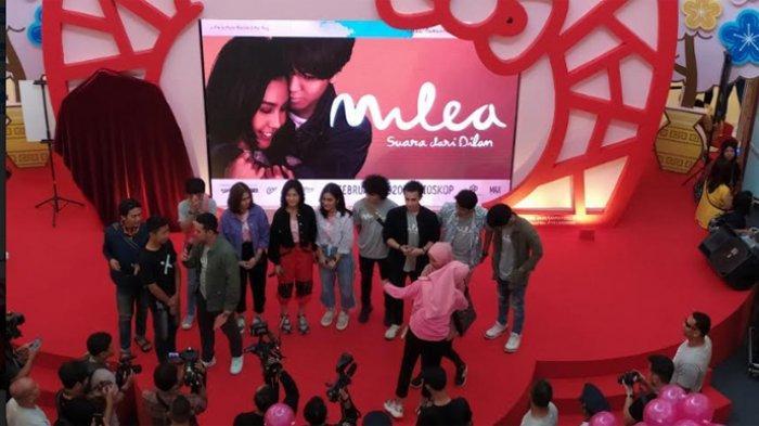 Parade film Milea digelar di Bekasi, Jawa Barat Sabtu, 8/2/20