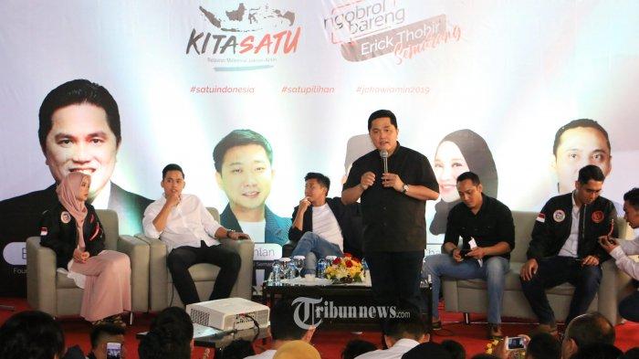 TKN Fokus Menangkan Jokowi-Ma'ruf di Semua Daerah