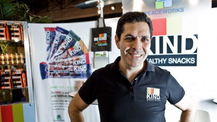 Pendiri KIND Healthy Snacks, Daniel Lubetzsky.