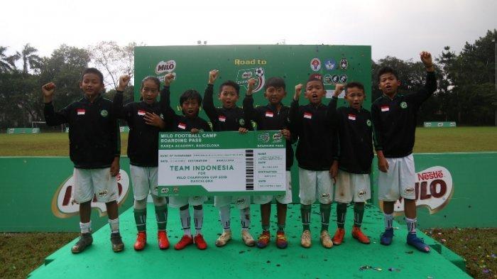 16 Pemain Terbaik Dari Lima Kota Mengikuti Pelatihan di International Sports Club of Indonesia