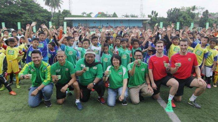 MILO Football Clinic Day: Pelatihan Berstandar Internasional Bagi Ratusan Siswa Sekolah Dasar