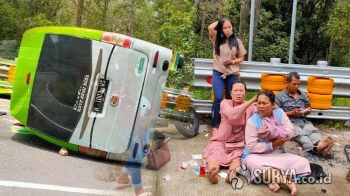 Sopir Tak Kuasai Medan, Minibus Tabrak Tiga Gadis yang Sedang Selfie