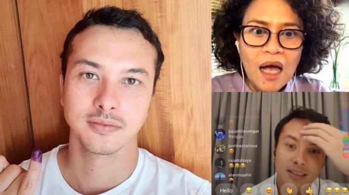 Mira Lesmana dan Nicholas Saputra