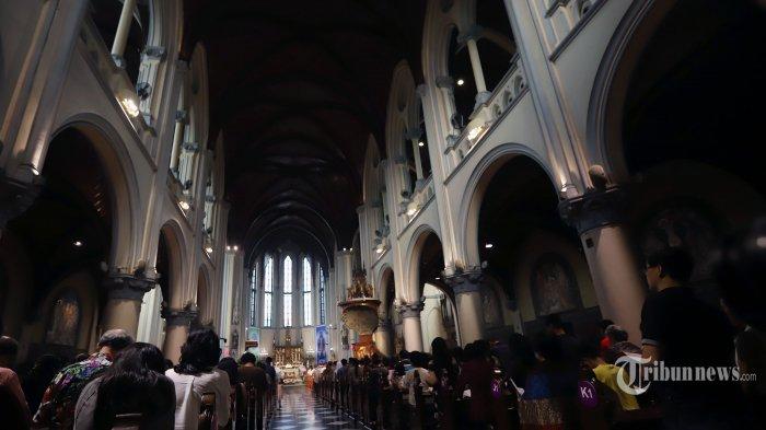 Mulai Hari Ini, Gereja Katedral Jakarta Mulai Gelar Misa Bersama