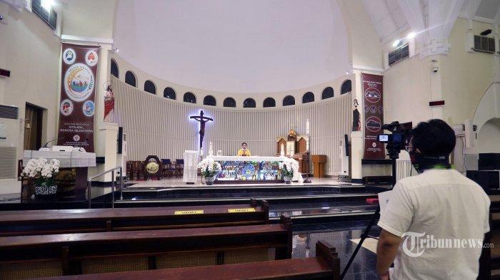 LIVE Misa Minggu 14 Februari 2021, Link Gereja Katedral Palembang sampai Surabaya