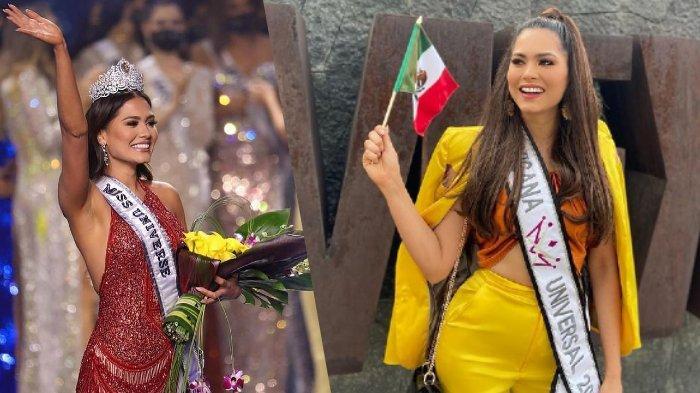 Andrea Meza Bicarakan Kemenangannya di Miss Universe 2020 dan Siapa yang Menjadi Sosok Inspirasinya