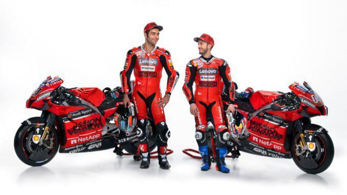 Mission Winnow Ducati Desmosedici GP20