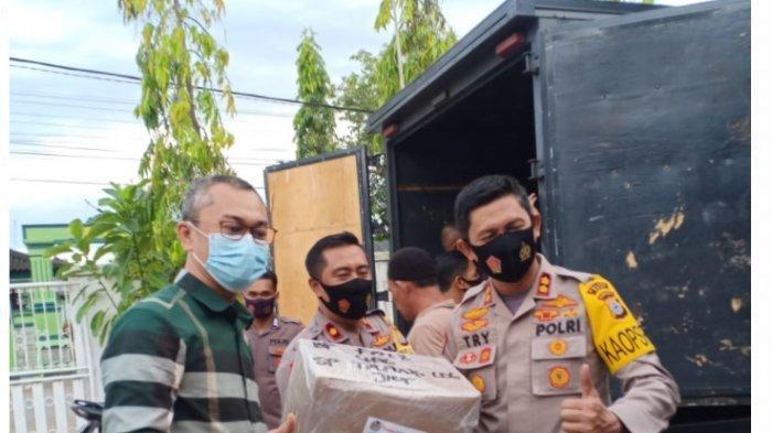 Anggota Komisi III DPR RI Andi Rio Bangun Sinergitas dengan Polri