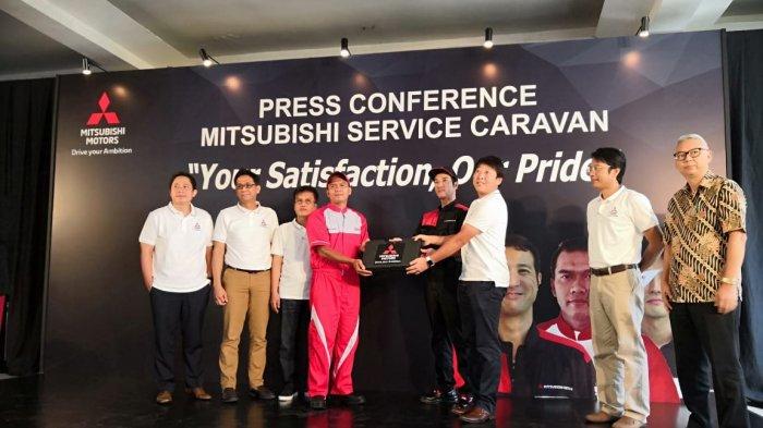 Mitsubishi Motors Gelar 'Service Caravan' dengan Datangkan Mekanik Ahli dari Jepang