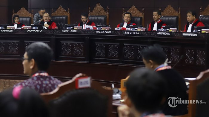 Mahkamah Konstitusi Bantah Isu Hakim Tangani Perkara Sengketa Pilpres Terima Ancaman