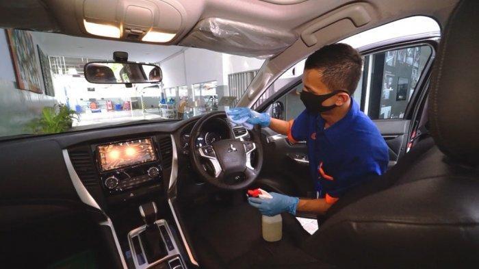 Mitsubishi Terapkan Protokol Kesehatan di Seluruh Jaringan Diler Resmi