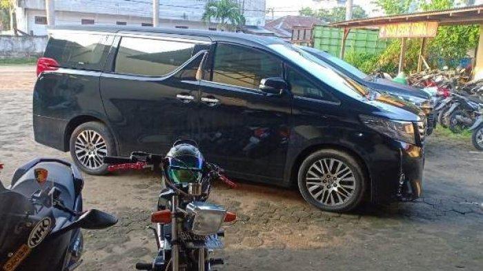Satu Minggu, Mobil Alphard yang Hilang di Parkiran RSUD Ditemukan, Lihat Kondisinya