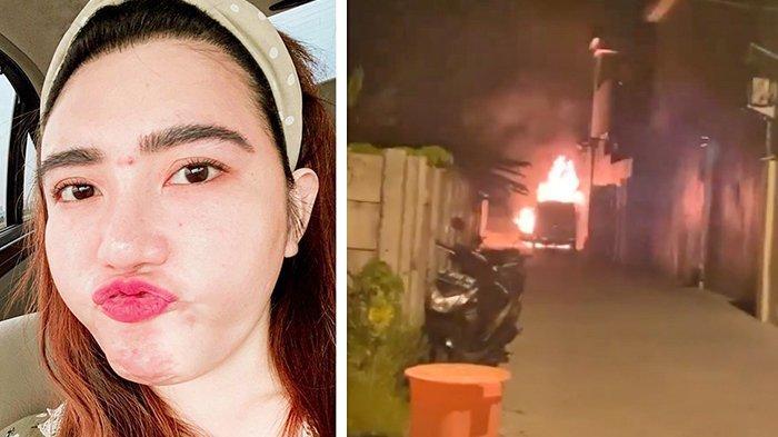 Mobil Alphard Via Vallen Terbakar, Ini Taksiran Kerugian yang Dia Alami