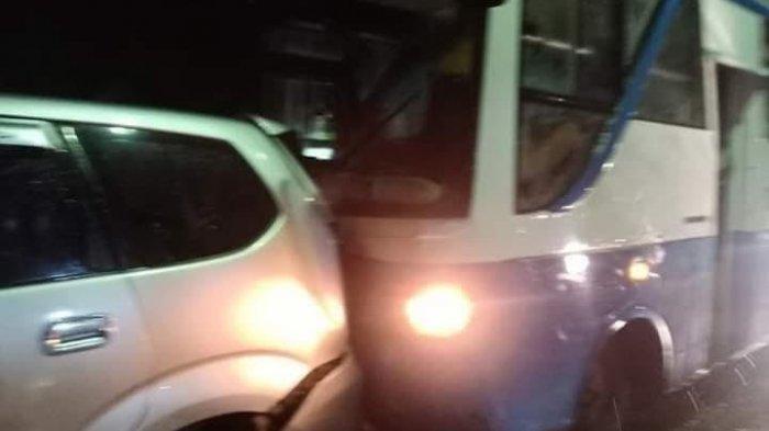 Tabrak Kendaraan Yang Mengerem Mendadak, Bus Rombongan Pramuka Diminta Ganti Rugi Rp 12 Juta