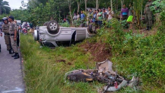 Tabrakan dengan Mobil Dinas PPPA OKU Timur, Tri Lindawati dan Anaknya Tewas