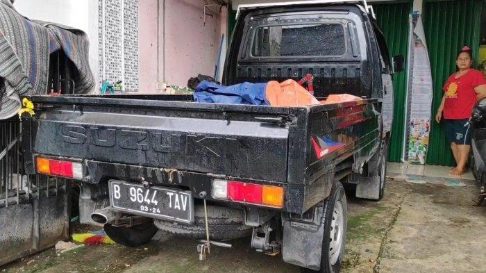 Mesin Mati, Mobil Bak Terbuka Gagal Digondol Komplotan Maling di Duren Sawit