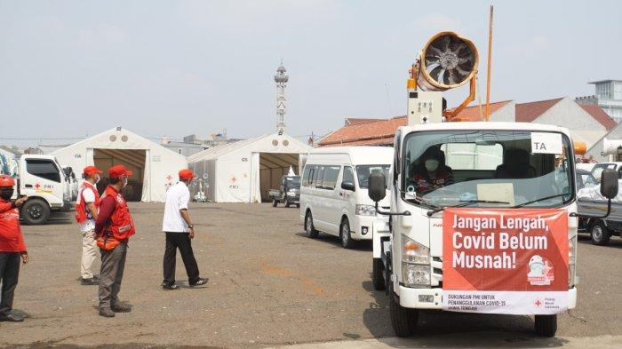 PMI Operasikan Armada Disinfeksi ke Wilayah Zona Merah di Jawa Tengah