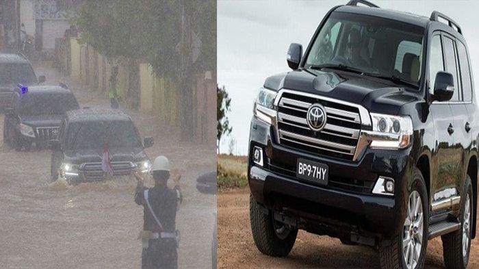 Pantas Mobil Dinas Jokowi Mampu Terobos Banjir di Kalsel Gunakan Land Cruiser, Berapa Harganya?