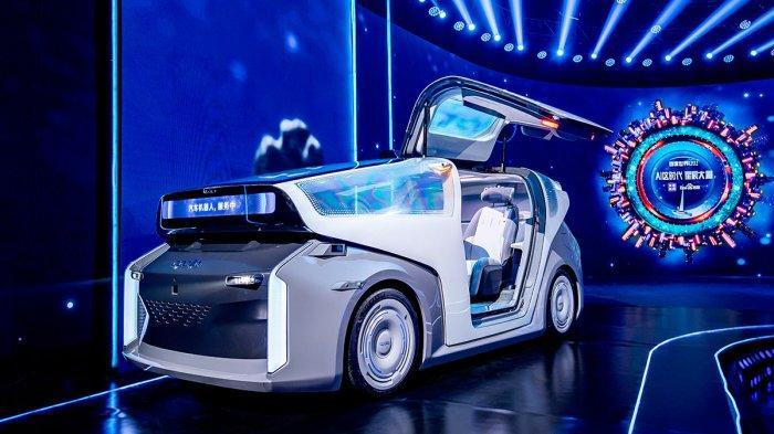 Saingan Google dari China Kenalkan Mobil Konsep Super Canggih Berteknologi AI