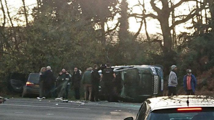 Suami Ratu Elizabeth selamat dari Insiden Kecelakaan Mobil