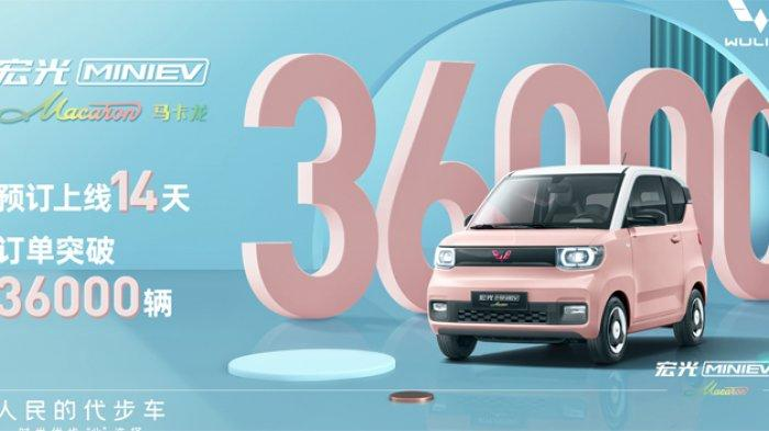 Mobil Listri Mini Wuling Debut di China_1