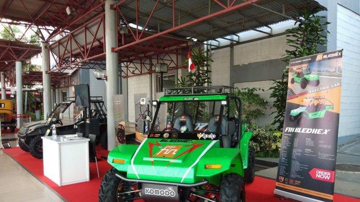 Bledhex, Mobil Listrik Offroad Buatan Lokal Unjuk Gigi di IIMS Hybrid 2021