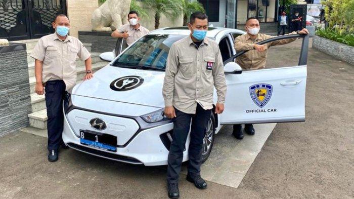 Dorong Penggunaan Kendaraan Listrik, Bamsoet Jadikan Mobil Listrik Hyundai Official Car IMI