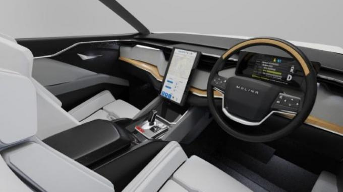 Mobil Listrik i-Deora 4