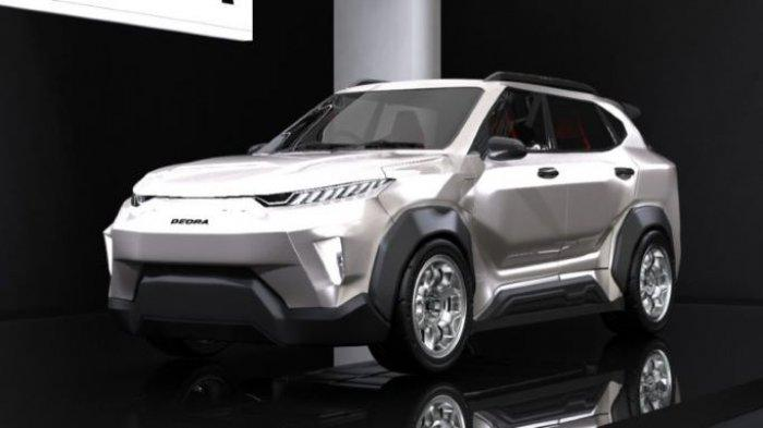 ITS Pamer Desain Mobil Listrik i-Deora