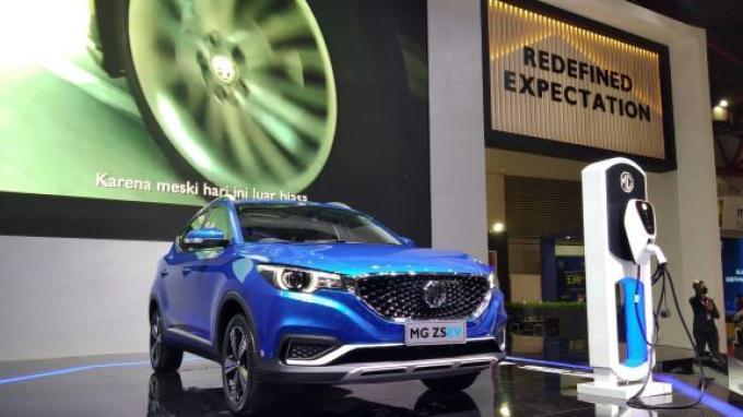 Berhasil Sedot Perhatian, Mobil Listrik MG ZS EV Telah Dijajal 300 Pengunjung