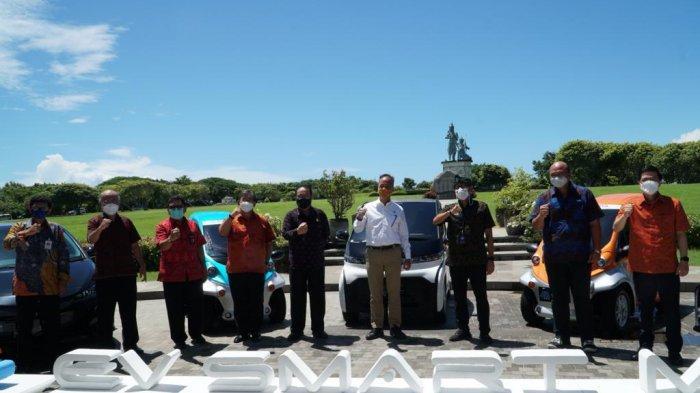 Populerkan Mobil Listrik, Toyota Hadirkan EV Smart Mobility di Bali