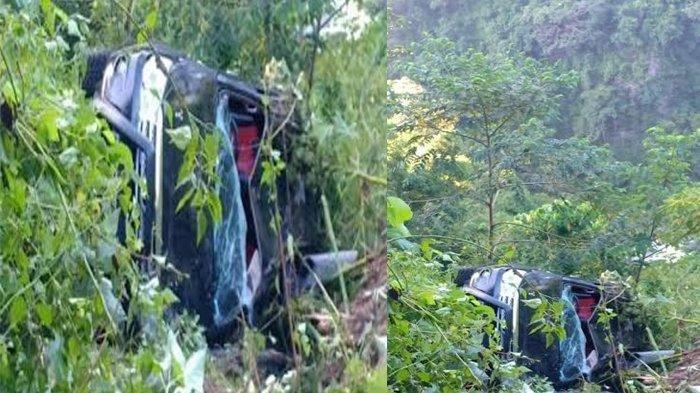 Mobil Terjun ke Jurang Sedalam 50 Meter, 7 Penumpangnya Selamat