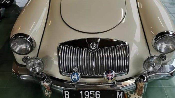 Mobil sport klasik MG MGA Series4