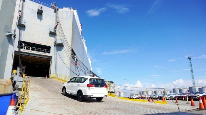 Lanjutkan Tren Pemulihan, Kinerja Ekspor Toyota Kuartal I 2021 Naik Tipis