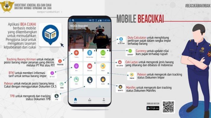 Mobile-BeaCukai: Kini, Semua Layanan Bea Cukai dalam Genggaman