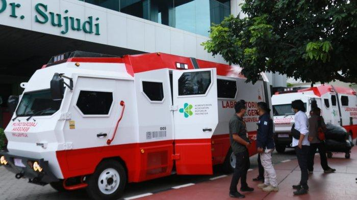 Kemenkes Sebar 10 Unit Mobil Laboratorium KhususBSL-2 di 10 Provinsi
