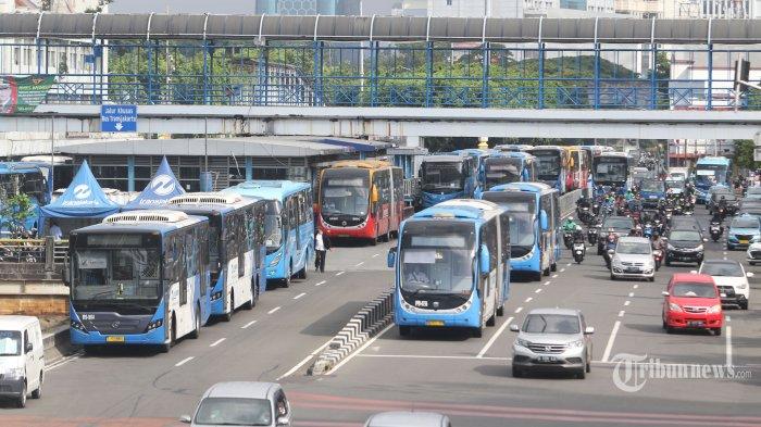 Informasi Baru Operasional Bus TransJakarta per 24 Mei 2020, Cuma Layani 15 Rute Saja