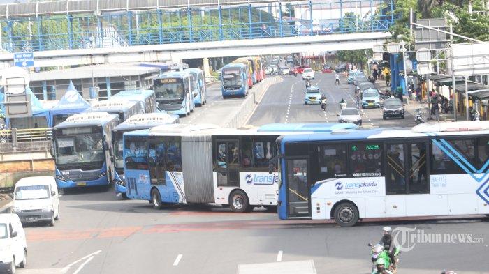 Layanan Operasional Bus TransJakarta per 2 Juni 2020 Selama Berlakunya PSBB