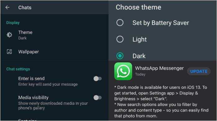 Cara Mengaktifkan Dark Mode WhatsApp untuk Android & iPhone, Bikin Lebih Hemat Baterai Ponsel