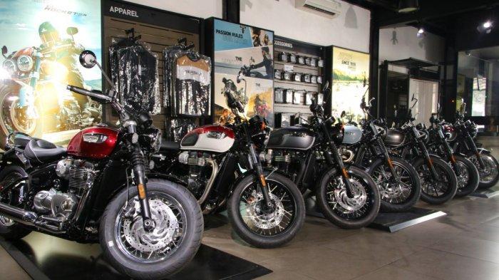 Triumph Motor Rilis 7 Varian Baru Bonneville Edisi 2021
