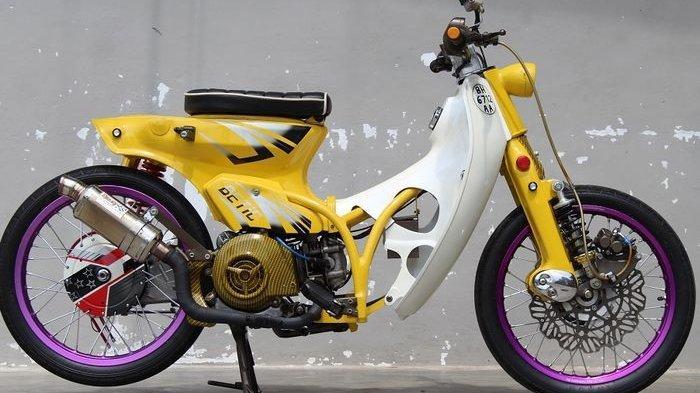 Begini Jadinya Jika Honda Berkolaborasi dengan Yamaha, C70 Pakai Mesin Mio
