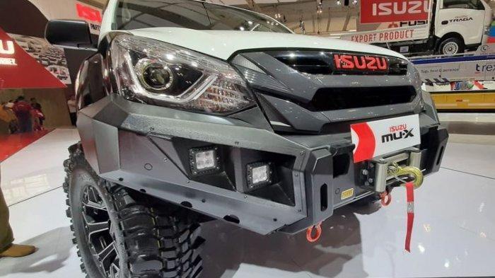 Isuzu mu-X Versi Modifikasi, Tampil dengan Gaya Off-road