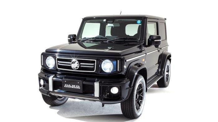 Paketan Body Kit Baru DAMD Suzuki Jimny Sierra, Harganya Rp 50 Juta!