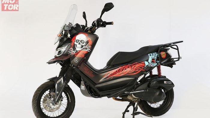 Yamaha Siapkan Penantang Honda X-ADV 150 dengan Basis NMAX dan Aerox, Inikah Penampakannya?