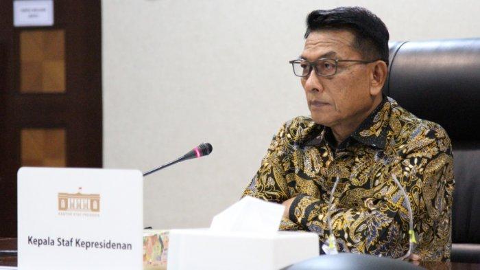 ALASAN Moeldoko Terima Pinangan Jadi Ketum Demokrat Versi KLB, Minta Tak Bawa-bawa Presiden Jokowi