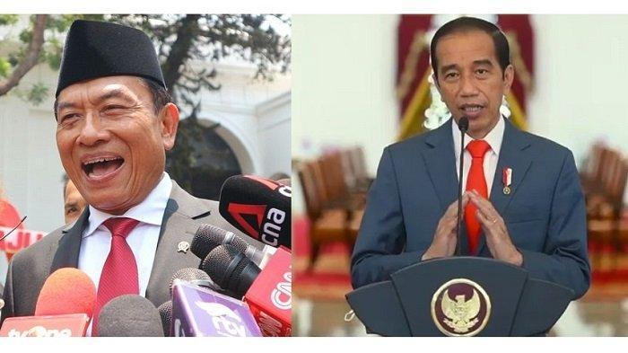Moeldoko dan Jokowi