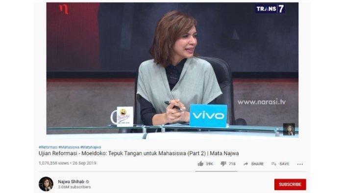 Gara-gara UN Sugiyono Curhat Anak Kerap Pilek hingga Gejala Tifus, Najwa Shihab Heran & Tanya Ini
